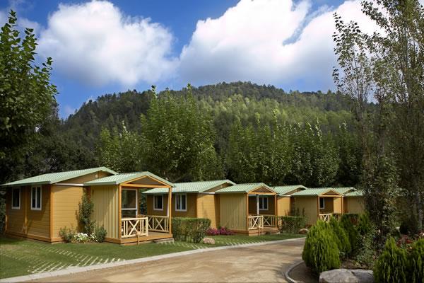 Camping Bassegoda bungalows