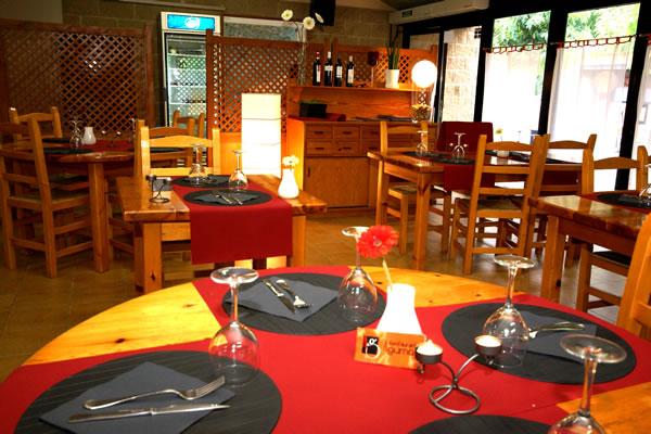 Camping Bassegoda restaurante
