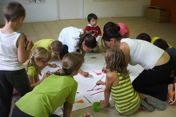 camping Bassegoda actividades infantiles