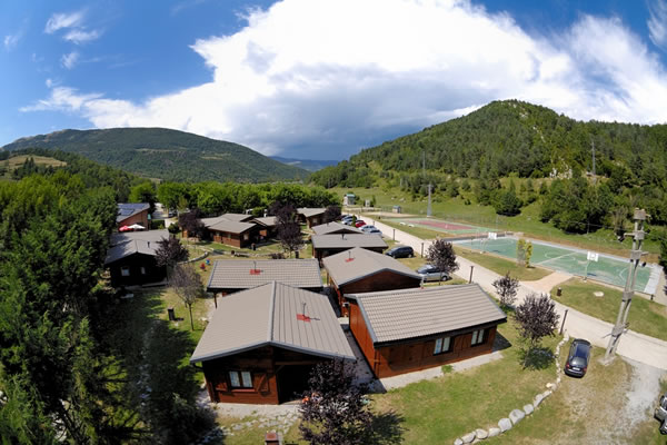 Camping Vall de Camprodon chalets
