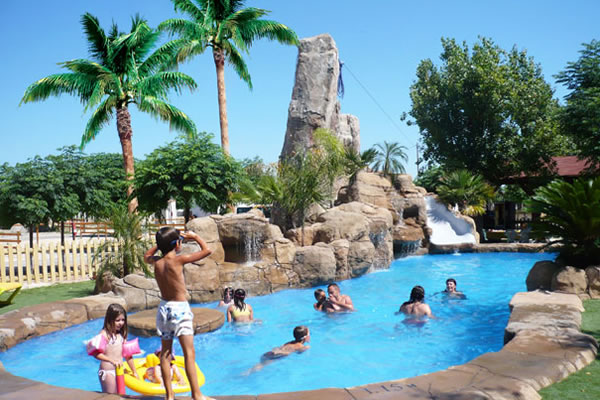 Camping Spa Natura Resort Peniscola piscina