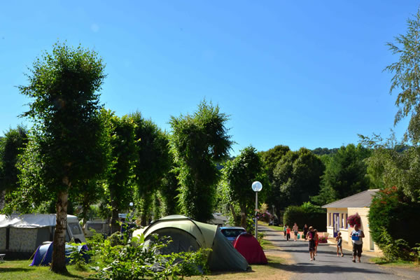 Camping L'Europe parcelas