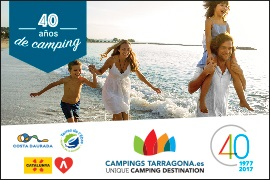 Campings Tarragona: More than 50 campsites in a UNIQUE CAMPING DESTINATION.