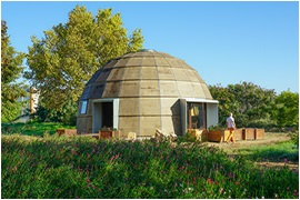 Ecologic dome, multifunctional, self-mountable