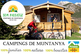 Your mountain campsites in the most picturesque places in Catalonia