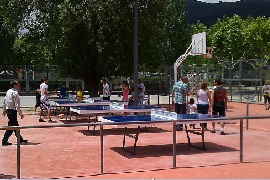 El Escorial. Camping with entertainment and services for events and groups
