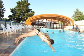 Itsas Mendi. Camping with water park and indoor pool in the Landes.