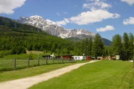 Cortina, camping in the Dolomites in Cortina d'Ampezzo
