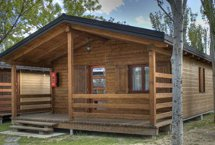 Precios alojamientos camping el escorial el escorial - Fotos de bungalows de madera ...