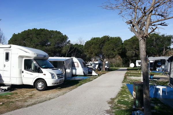Camping La Buganvilla parcelas