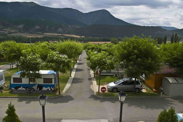 Camping Valle de Tena vista general