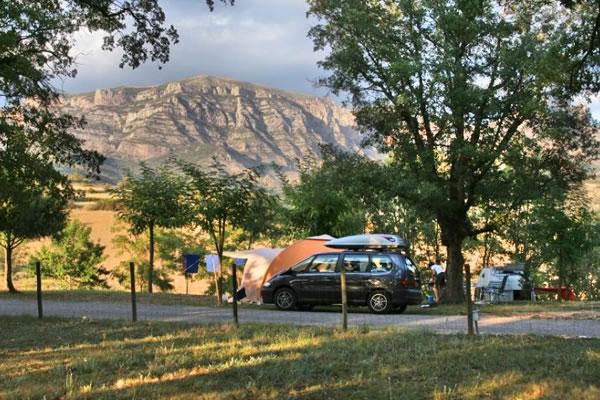 Camping Isabena acampada