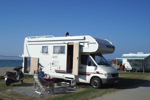 Camping 3 Estrellas parcela playa