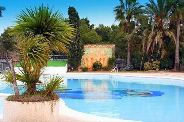 Camping Platja Vilanova piscina