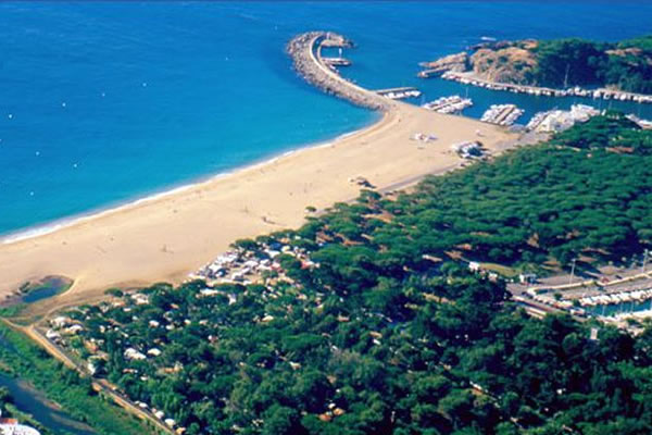 Camping Vall d'Or vista aerea