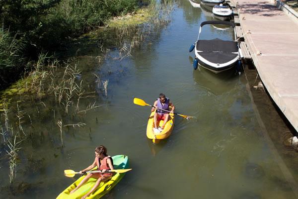 Camping Riu canoas