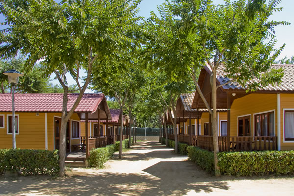Camping Solmar bungalows
