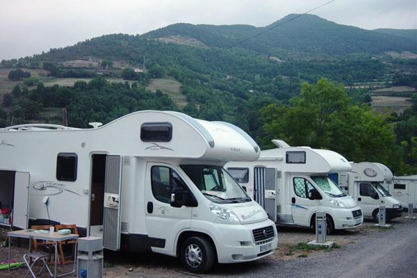 Camping Vall de Ribes autocaravanas