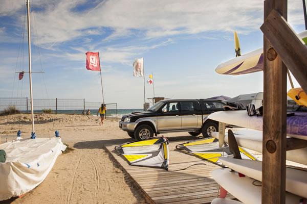 Camping Las Palmeras Tarragona actividades playa