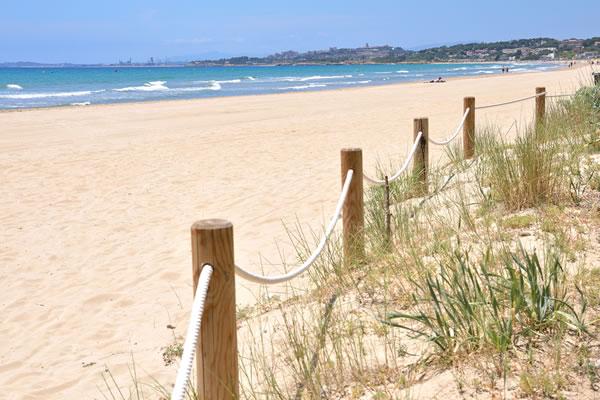 Camping Las Palmeras Tarragona playa