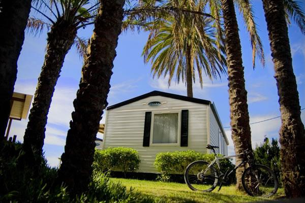 Camping Las Palmeras Tarragona mobil home
