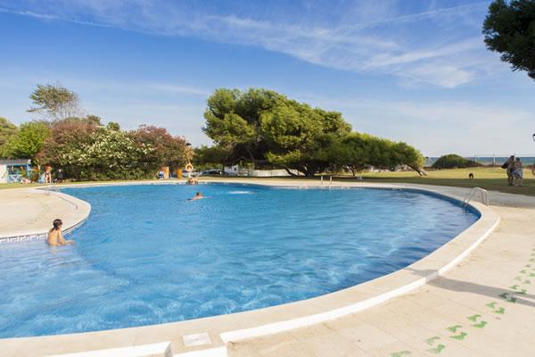 Camping Las Palmeras Tarragona piscina