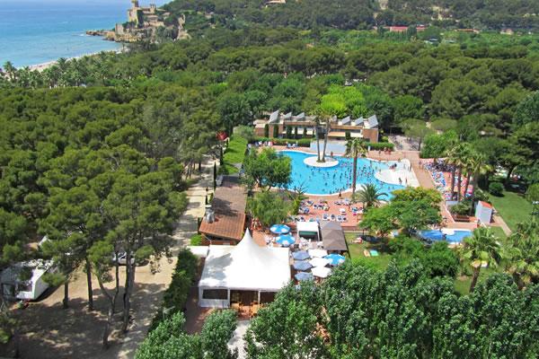 Camping tamarit beach resort en tarragona gu a - Camping interior tarragona ...