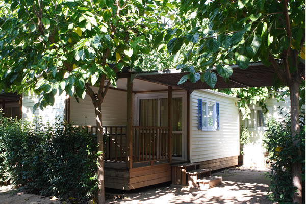 Camping Trillas bungalow