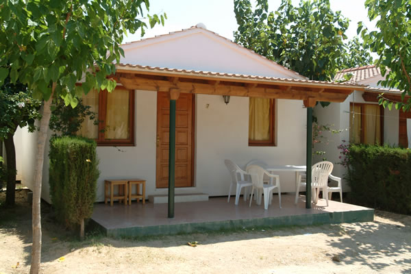 Camping Vendrell Platja bungalows