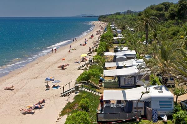 Camping La Torre del Sol playa