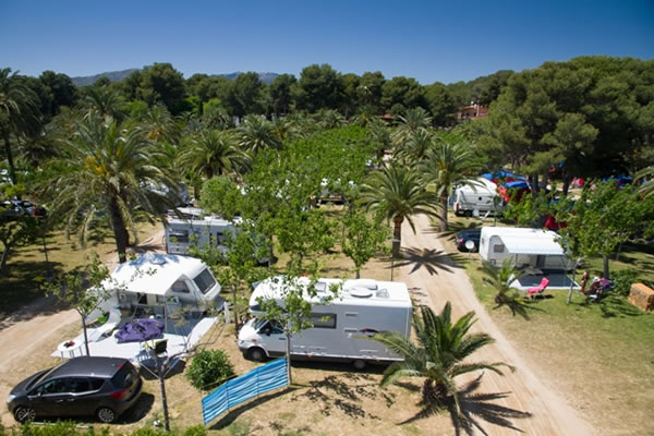 Camping La Torre del Sol parcelas