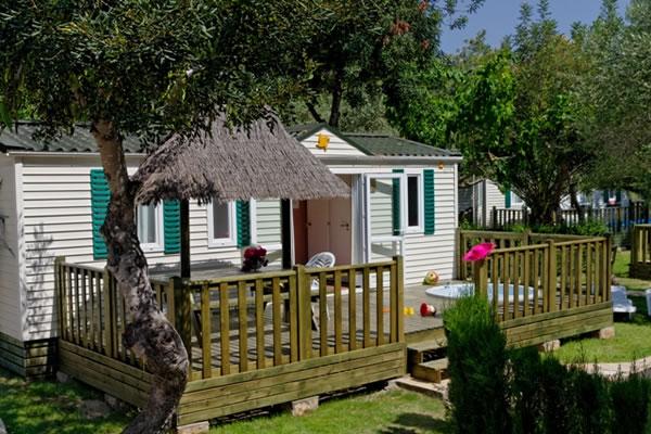 Camping La Torre del Sol terraza mobil home