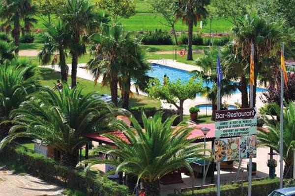 Camping Eucaliptus piscina