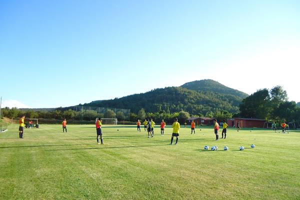 Camping Prades futbol