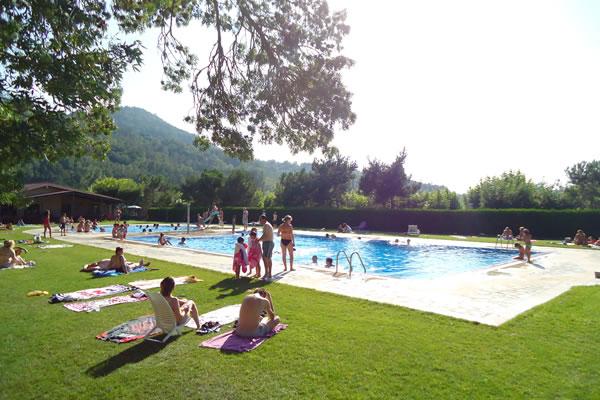 Camping Prades piscina