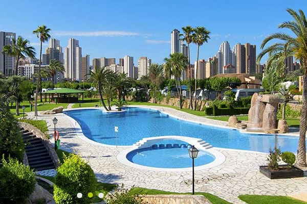 Camping Villasol Benidorm piscina