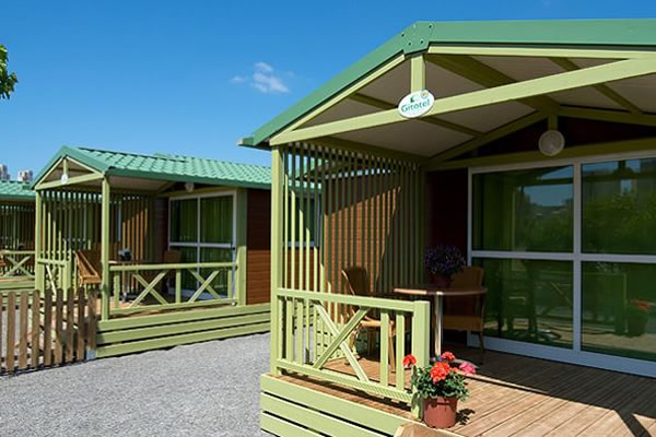Camping Villasol Benidorm bungalows