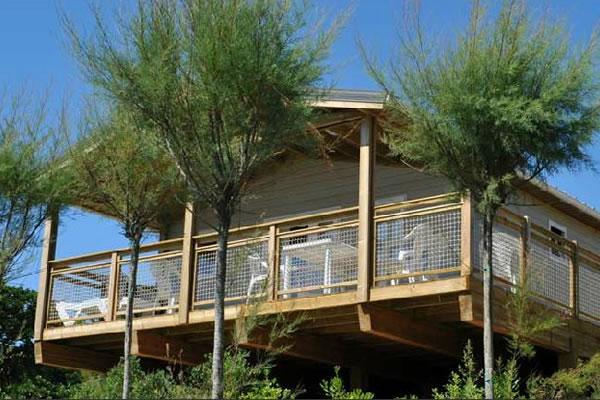 Camping Le Saint Martin Moliets bungalow