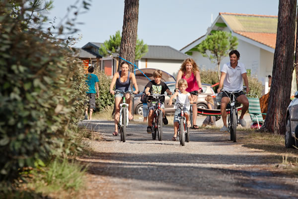 Camping Le Saint Martin Moliets bicicletas