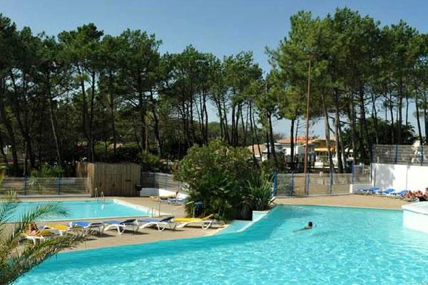 Camping Le Saint Martin Moliets piscinas