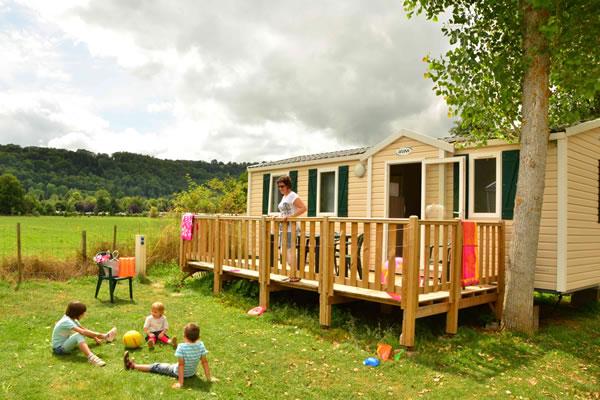Camping L'Europe mobil home niños