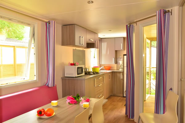 Camping L'Europe interior mobil home