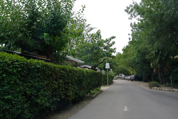 Camping Les Pins Argeles calle