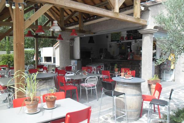 Camping Les Pins Argeles bar
