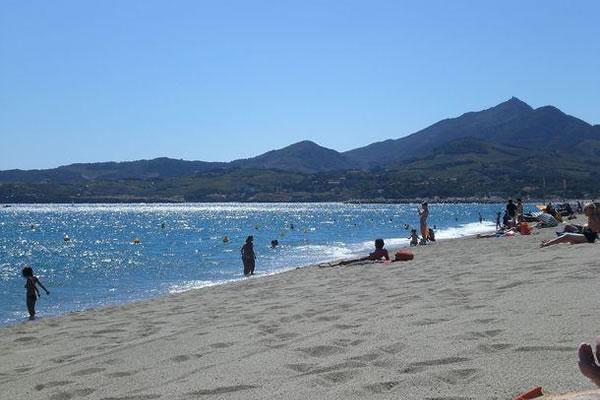 Camping Les Pins Argeles playa