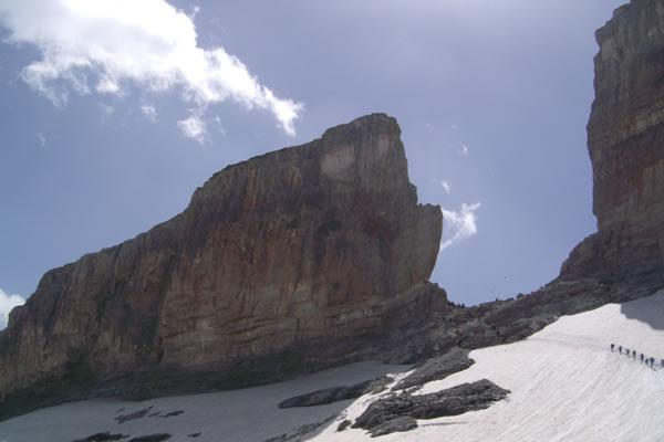 Camping Pyrenees paisajes