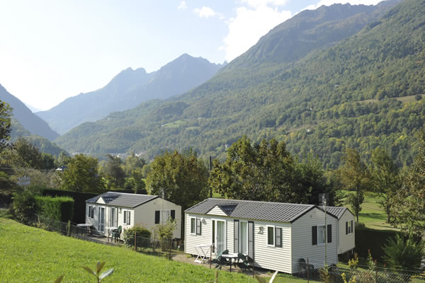 Camping Pyrenees mobil homes