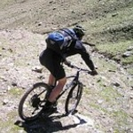 Cycling, mountain bike trails