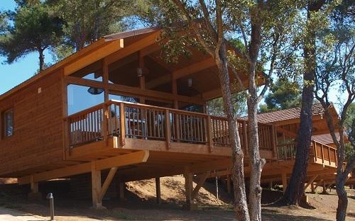 Bungalows de madera gu a vayacamping - Fotos de bungalows de madera ...
