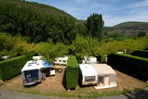 Parcelas camping Grand Confort